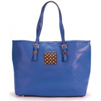 Sacs Femme Cabas / Sacs shopping Thierry Mugler Sac cabas Eclat 5 Bleu Bleu