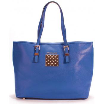 Sacs Femme Sacs Thierry Mugler Sac cabas  Eclat 5 Bleu Bleu