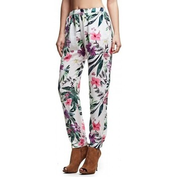 Vêtements Femme Leggings Guess Pantalon Aurelie imprimé floral Multicolore