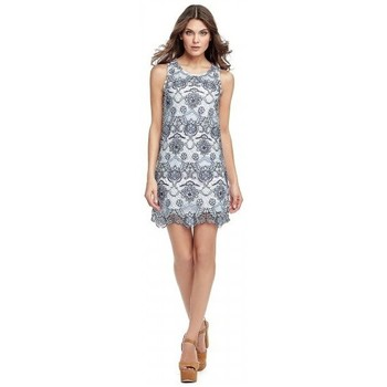 Vêtements Femme Robes courtes Guess Robe Selah Bleu Bleu