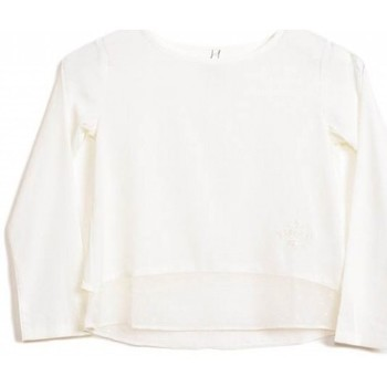 Vêtements Fille Chemises / Chemisiers Kaporal Chemise fille  Popa Off White Blanc cassé