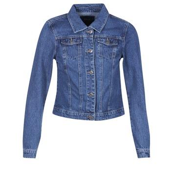 Vêtements Femme Vestes en jean Only DARCY Bleu medium