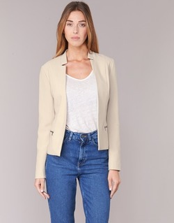 Vêtements Femme Vestes / Blazers Only MADELINE Beige