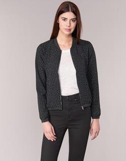 Vêtements Femme Blousons Only NOVA LACE Noir / Blanc