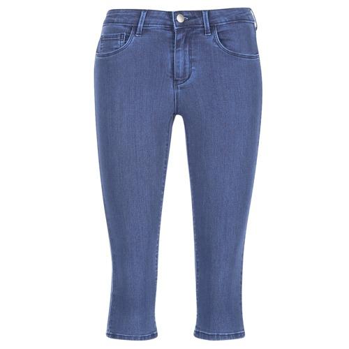 Vêtements Femme Pantacourts Only RAIN KNICKERS Bleu medium
