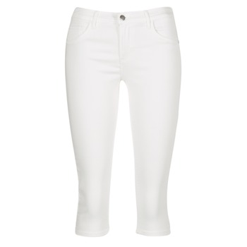 Vêtements Femme Pantacourts Only RAIN REG Blanc