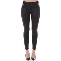 Jeans slim Comme Des Garcons Jean Love Denim Noir couture fantaisie 123P16H-3