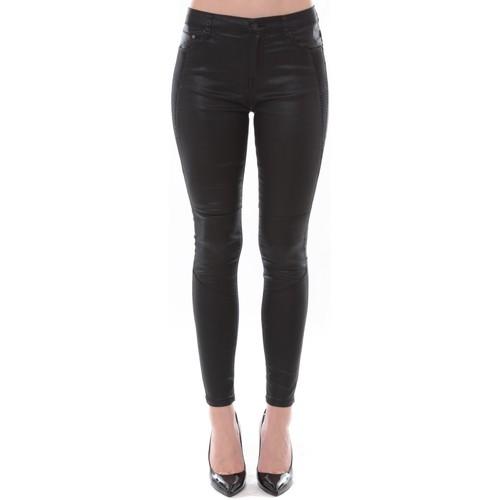 Vêtements Femme Jeans slim Comme Des Garcons Jean Love Denim Noir couture fantaisie 123P16H-3 Noir
