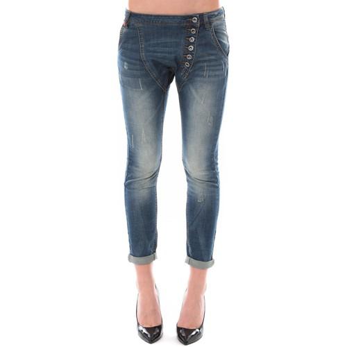 Jeans Dress Code Jean Remixx Bleu Delavé RX860 Bleu 350x350