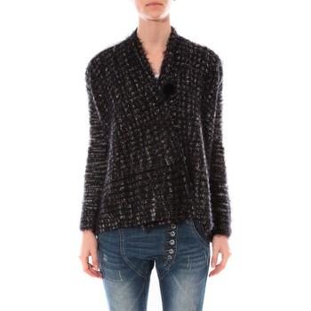 Vêtements Femme Pulls De Fil En Aiguille Gilet  Maella Noir FT15 Noir