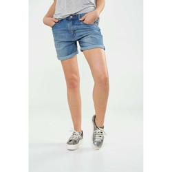Vêtements Femme Shorts / Bermudas Cheap Monday Shorts  Thrift Short Bleu Femme Bleu