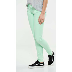 Vêtements Femme Jeans slim Cheap Monday Jeans  Zip Low Slim Vert Femme Vert