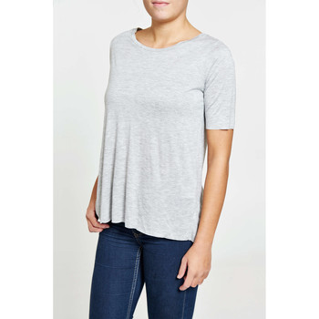 Vêtements Femme T-shirts manches courtes Cheap Monday Tee Shirt  Sign Gris Femme Gris