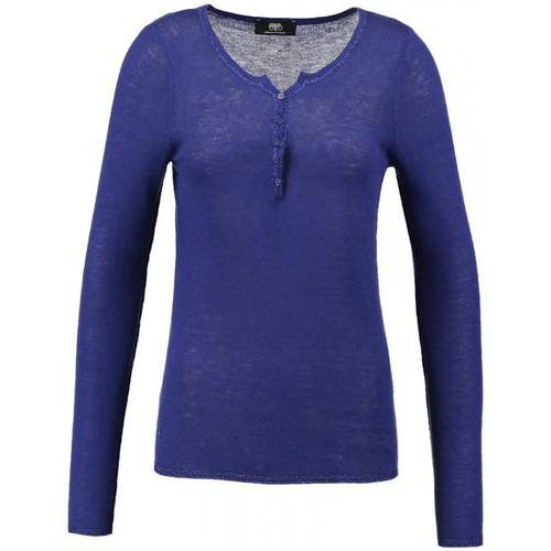 Vêtements Femme Pulls Le Temps des Cerises Pull  Sonia Indigo Bleu