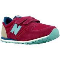 Chaussures Enfant Baskets basses New Balance M 12 Rouge-Beige