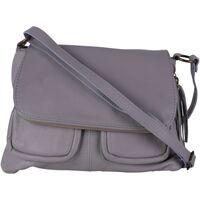 Sacs Femme Sacs porté épaule Oh My Bag Sac à Main cuir bandoulière femme - Modèle Avril gris foncé GRIS FONCE