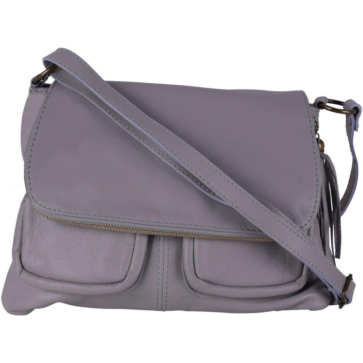 Sac A Main Bandouliere Cuir Gris : Oh my bag sac ? main cuir bandouli?re femme mod?le avril