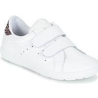 Chaussures Fille Baskets basses Citrouille et Compagnie GRANOU Blanc / Paillettes