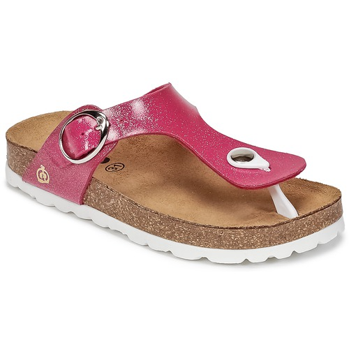 Chaussures Fille Tongs Citrouille et Compagnie GOMINET Rose