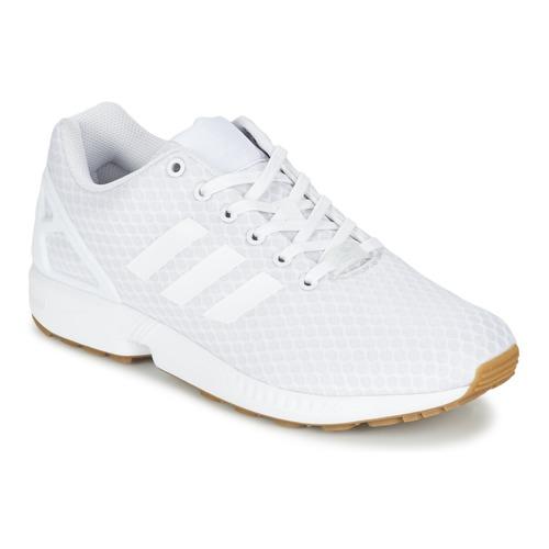 Chaussures Homme Baskets basses adidas Originals ZX FLUX Blanc