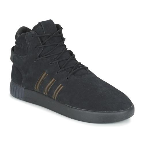 Chaussures Homme Baskets basses adidas Originals TUBULAR INVADER Noir