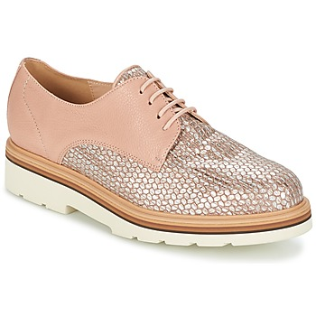 Chaussures Femme Derbies Fericelli GRATY Rose nude