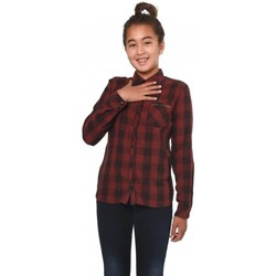 Vêtements Fille Chemises / Chemisiers Kaporal Chemise  Plan Bordeaux 8