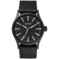 Montre Nixon Montre  Sentry 38 Leather - Black / White