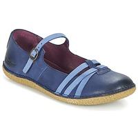 Chaussures Femme Ballerines / babies Kickers HIBOU Marine