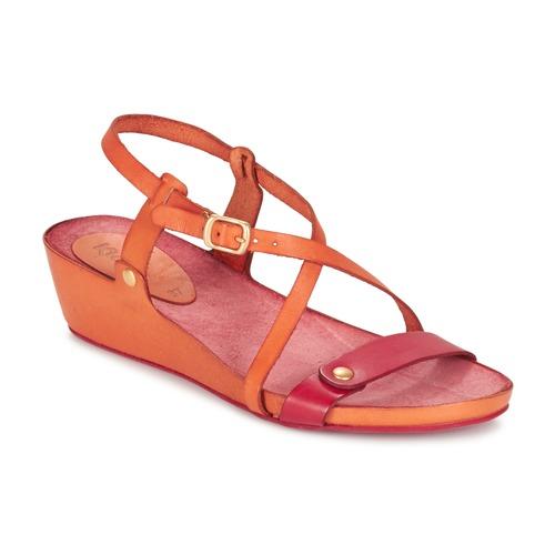 Chaussures Femme Sandales et Nu-pieds Kickers TASTE Orange / Rouge