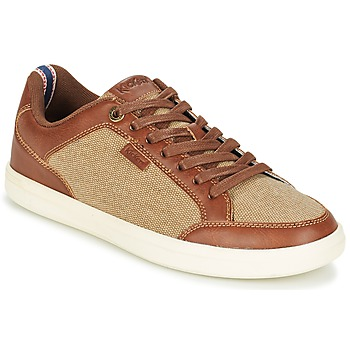 Chaussures Homme Baskets basses Kickers AART HEMP Marron / Beige