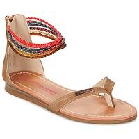 Chaussures Fille Sandales et Nu-pieds Les Tropéziennes par M Belarbi GINKGO Marron