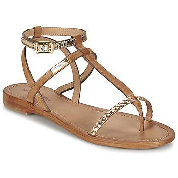 Chaussures Femme Sandales et Nu-pieds Les Tropéziennes par M Belarbi HILATRES Marron / Doré