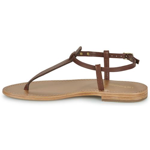 Sandales Par Les Belarbi Et Marron Femme Tropéziennes M pieds Nu Narvil vY76ybgf