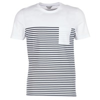 Vêtements Homme T-shirts manches courtes Jack & Jones APRIL CORE Blanc / Marine