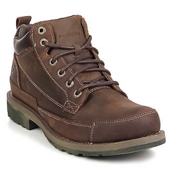 Bottines / Boots Skechers SHOCKWAVES REGIONS Marron 350x350