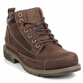 Chaussures Homme Boots Skechers SHOCKWAVES REGIONS Marron