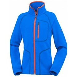 Vêtements Enfant Polaires Columbia Polaire  Fast Trek Ll Zip Super Blue Orang Bleu