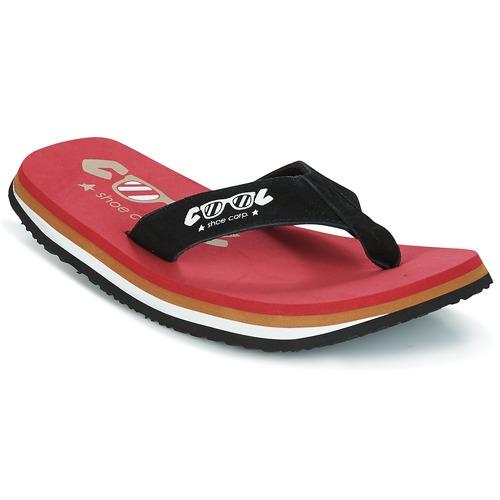 5217de86a9114 Cool shoe ORIGINAL Rouge / Noir - Livraison Gratuite   Spartoo ...