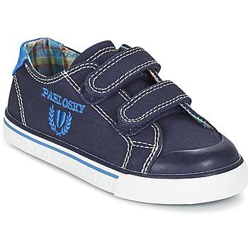 Chaussures Garçon Baskets basses Pablosky TEDOUME Bleu