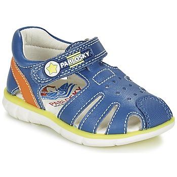 Chaussures Garçon Sandales et Nu-pieds Pablosky GUADOK Bleu