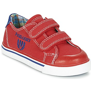 Chaussures Garçon Baskets basses Pablosky LIVABI Rouge