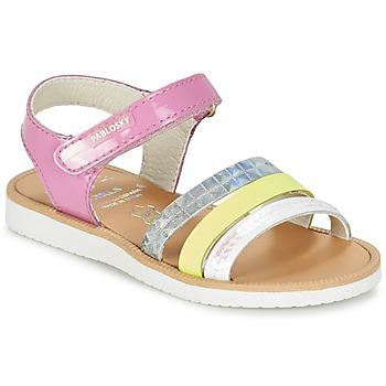 Chaussures Fille Sandales et Nu-pieds Pablosky RETOKIA Multicolor