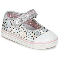Chaussures Fille Ballerines / babies Pablosky MEZINILE Argenté