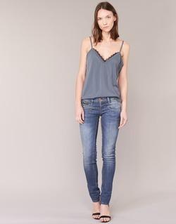 Vêtements Femme Jeans slim Freeman T.Porter ALEXA SLIM SDM Bleu médium