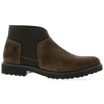 Chaussures Femme Boots Pao Boots cuir velours Marron