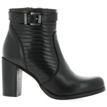 Chaussures Femme Boots Pao Boots cuir Noir