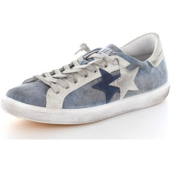 Chaussures Homme Baskets basses 2 Stars 2SU1426 Basket Homme Jeans/White Jeans/White
