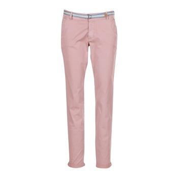 Vêtements Femme Pantalons 5 poches Esprit HOUISSA Rose