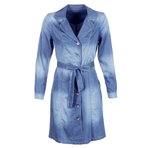 Vêtements Femme Trenchs Cream DENIM TRENCHCOAT Denim
